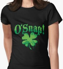 O'Snap St. Patrick's Day Swear Word Oh Snap Women's Fitted T-Shirt