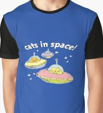 Space cats, Cats in Space Graphic T-Shirt