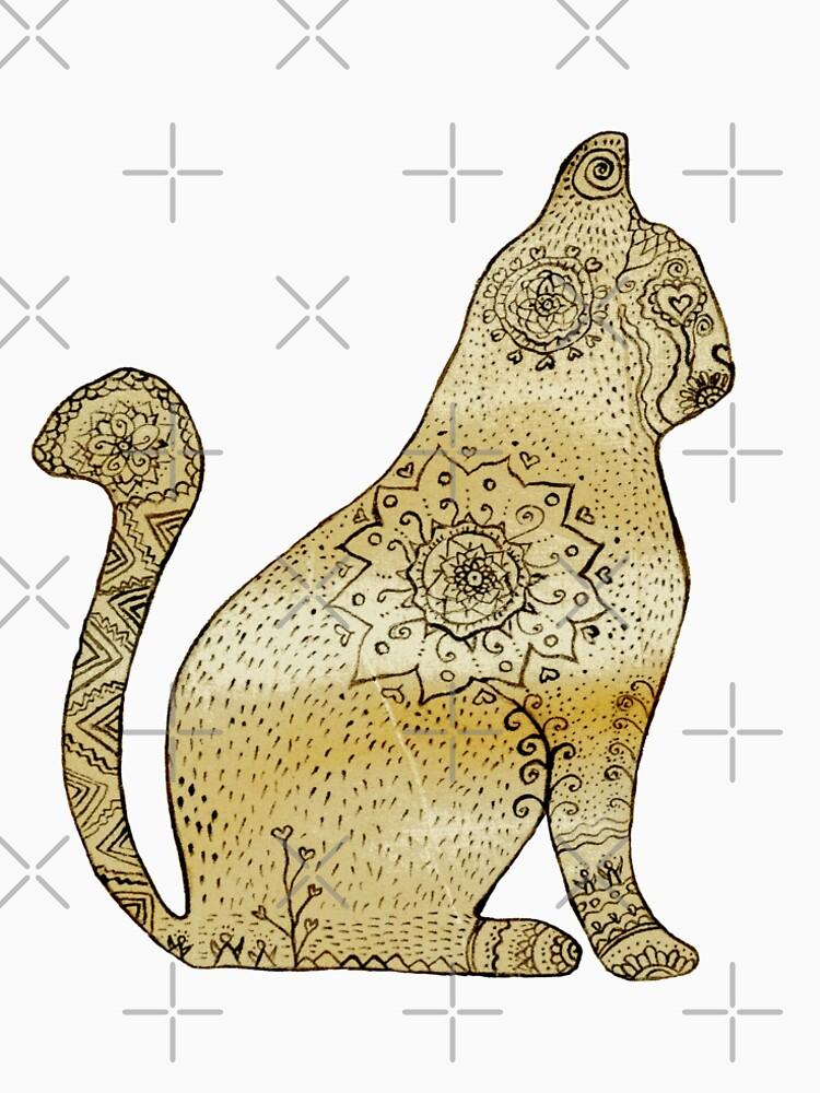 Mandala Cat de Manitarka