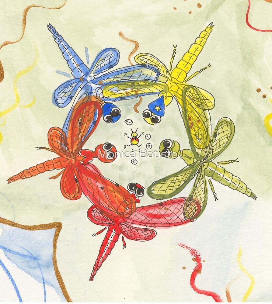 Dragonflies by Monica Batiste