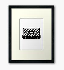 Cassette - Tape Framed Print