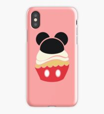 Cupcake Characters: Mickey iPhone Case/Skin