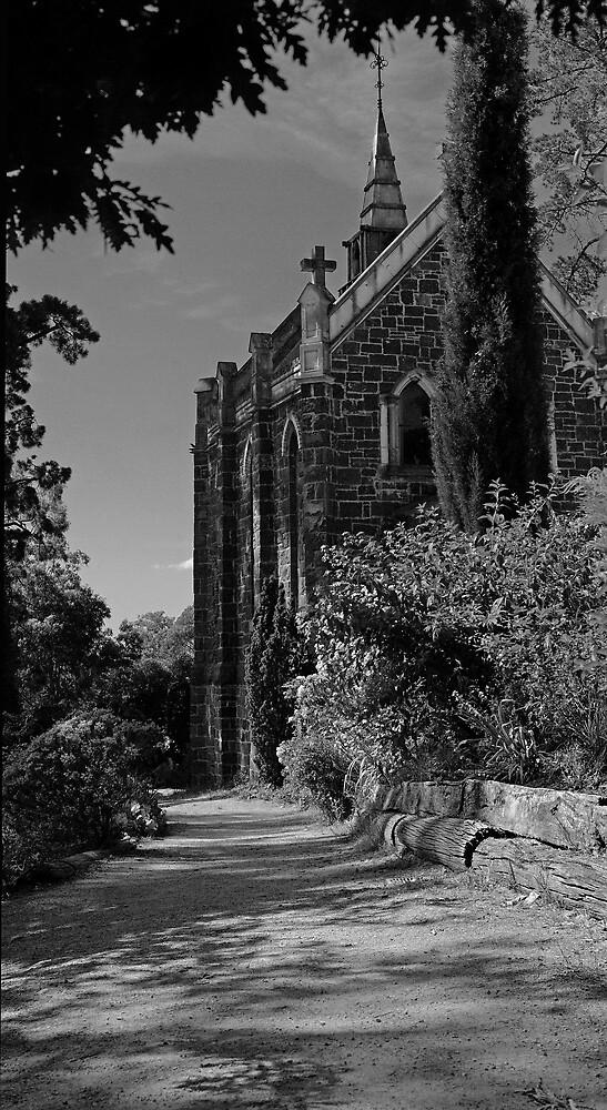 Monsalvat Chapel by ellenm1985