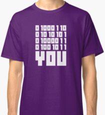 Fuck You - Binary Code Classic T-Shirt