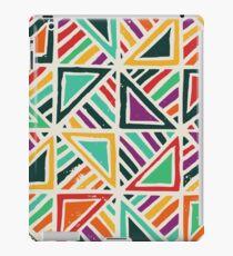 Fun geometric pattern iPad Case/Skin