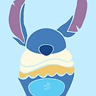 Cupcake Character: Stitch by pondlifeforme