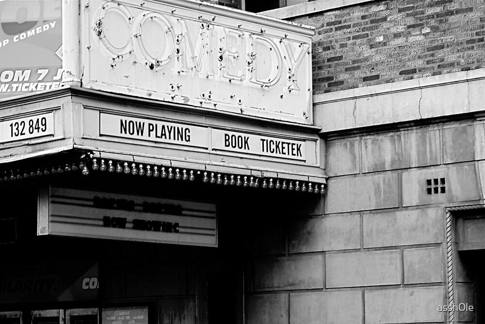 Comedy Theatre by assh0le