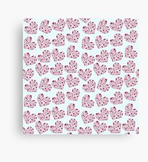 Heart pattern Canvas Print