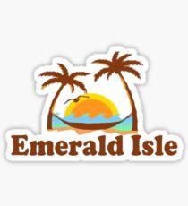 Emerald Isle - Bogue Banks. Sticker