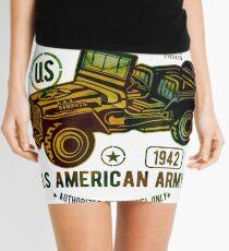 American Army Jeep Mini Skirt