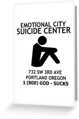 Emotional city suicide center greeting cards by drehverworter59 emotional city suicide center by drehverworter59 m4hsunfo