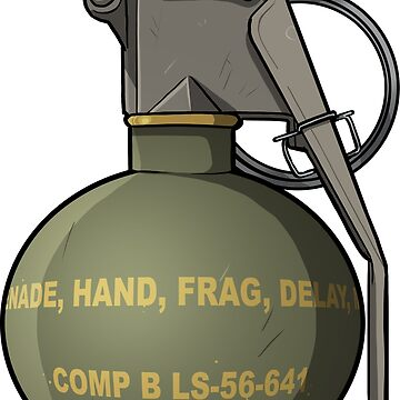 Hand grenade - sure we can share by TacOpsGear