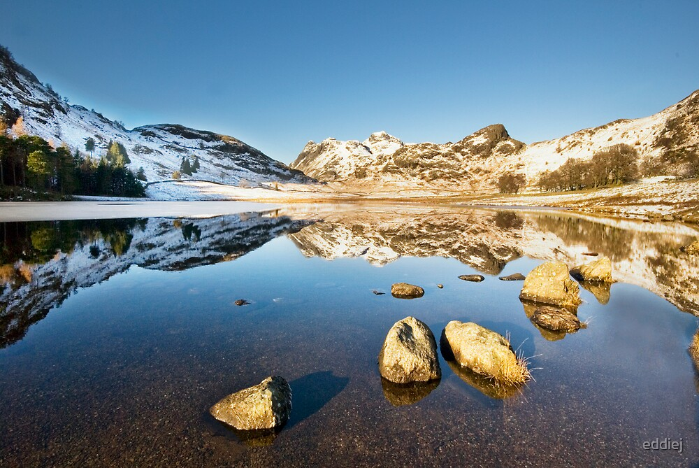Blea Tarn - Lake District - Cumbria by eddiej