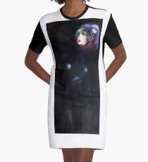 Art Work Graphic T-Shirt Dress