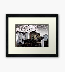 City Centre Framed Print