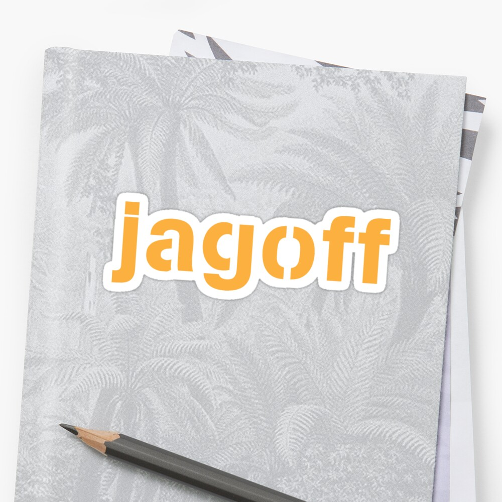 Jagoff Sticker
