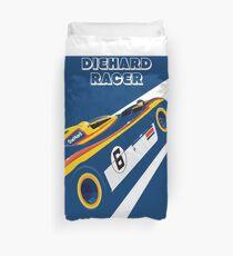 Diehard racer retro Duvet Cover