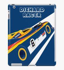 Diehard racer retro iPad Case/Skin