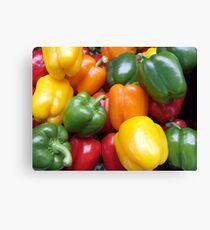 Bell pepper Canvas Print