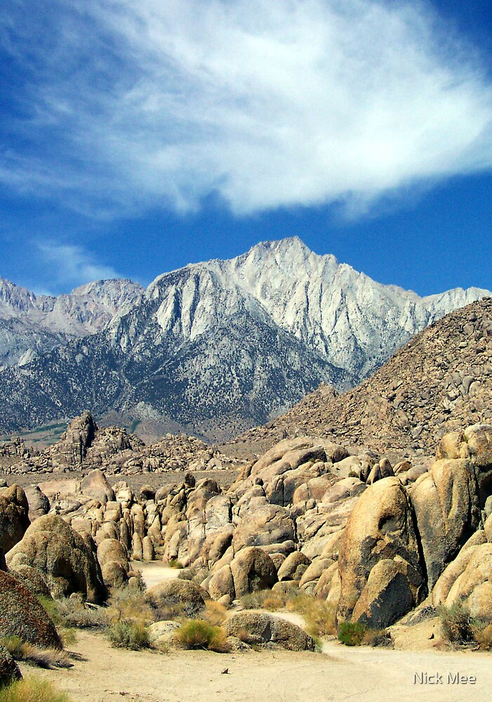 Mt Whitney by Nick Mee