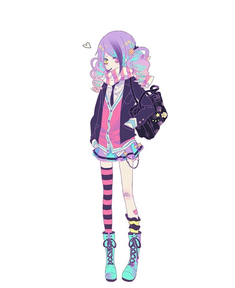 Anime Girl by PerditionHaze