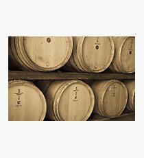 Wine Casks Photographic Print