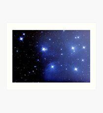 M45 pleiades seven sisters Art Print
