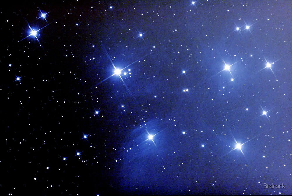 M45 pleiades seven sisters by 3rdrock