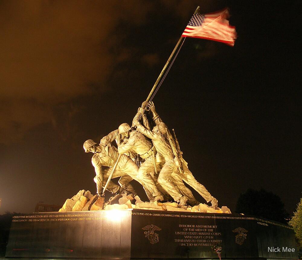 Iwo Jima Memorial by Nick Mee