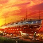 Christian - Noah's Ark - The beginning by Michael Savad