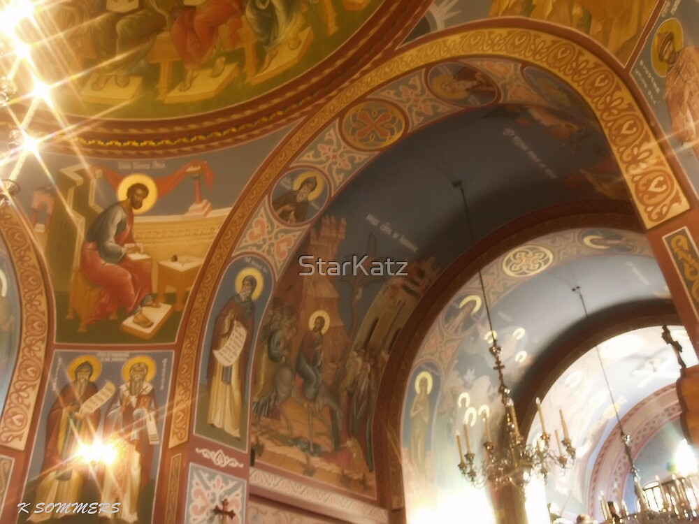 Russian Orthodox Church by StarKatz