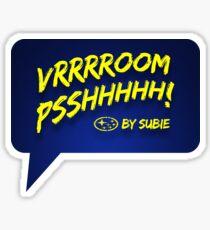 Subaru Impreza sound Sticker