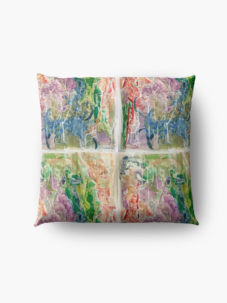 Alternate view of Abstract Floor Pillow