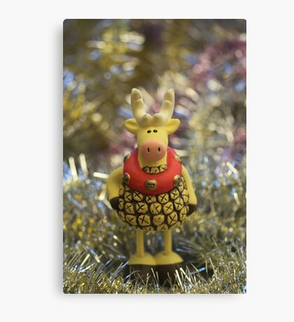 dress up for holiday Canvas Print