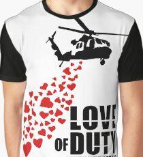 Camiseta gráfica Love of Duty
