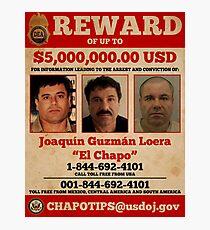 El Chapo wollte Fotodruck