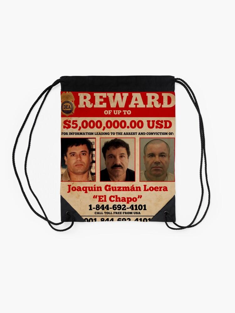 Alternative Ansicht von El Chapo wollte Rucksackbeutel
