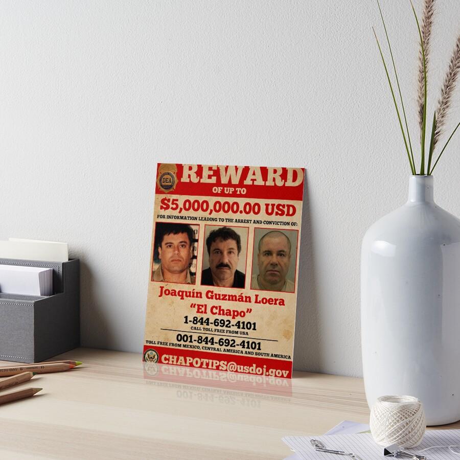 El Chapo wollte von pornflakes