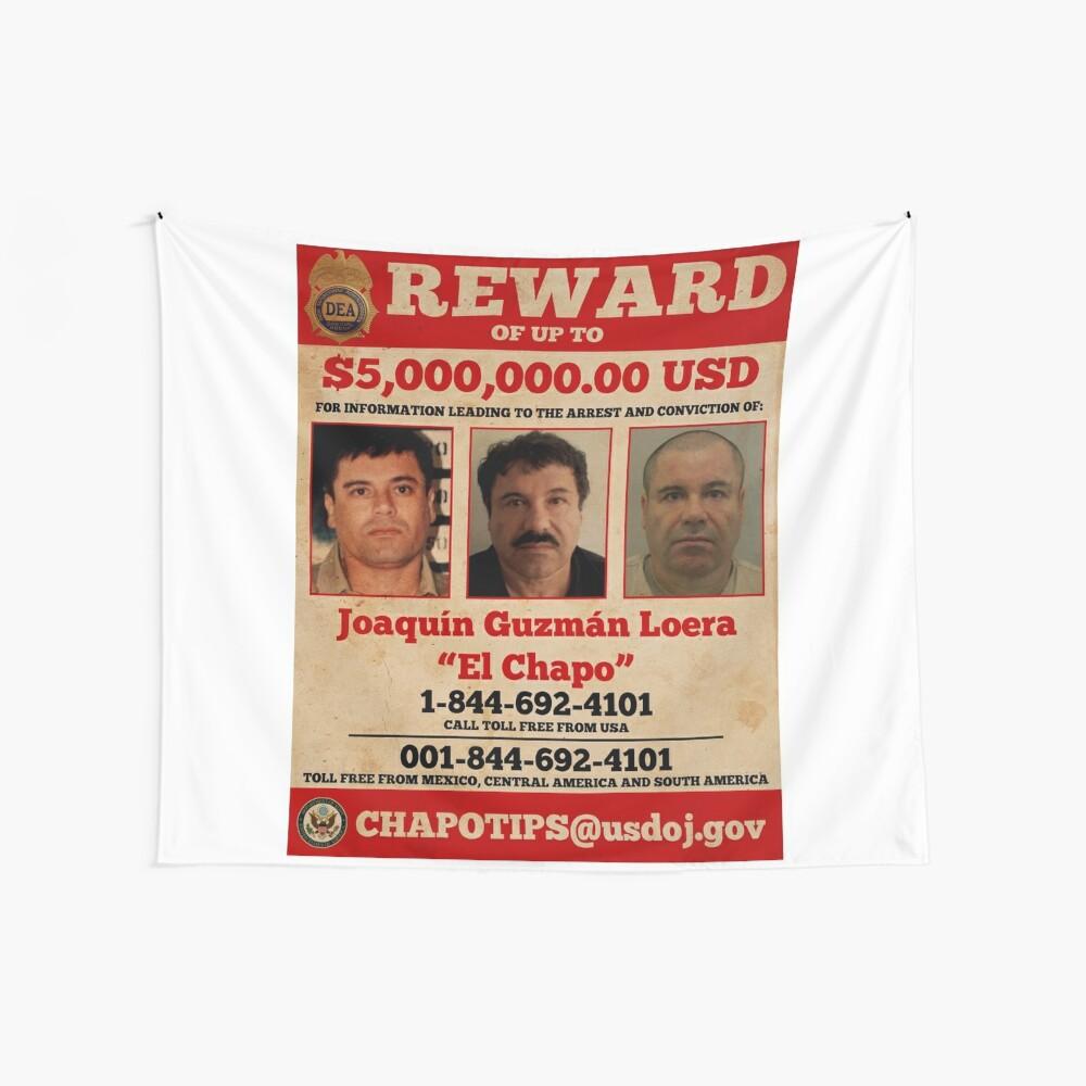 El Chapo wollte Wandbehang