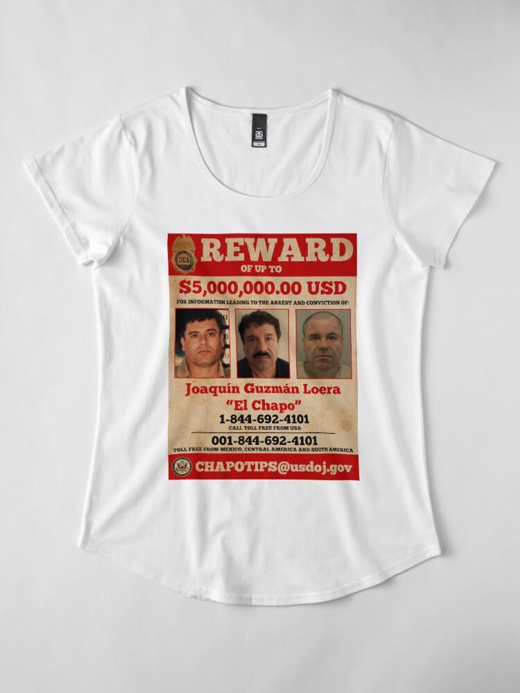 Alternative Ansicht von El Chapo wollte Frauen Premium T-Shirt