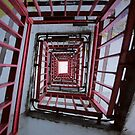 Spiral Staircase by Mel Preston