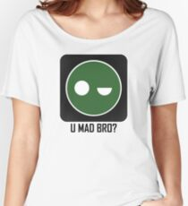 Superintendent U MAD BRO? (Winking SI) Women's Relaxed Fit T-Shirt