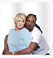 Martha & Snoop Poster