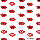 Gap x Lips Structured pattern by KLCreative