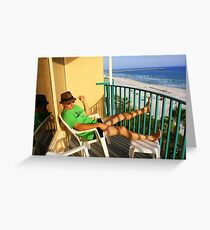 Surf Life Greeting Card