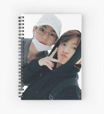 TAEKOOK / VKOOK SELCA 171008 Spiral Notebook