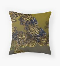 Alien pollen Throw Pillow