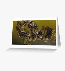 Alien pollen Greeting Card