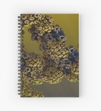 Alien pollen Spiral Notebook