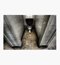 Tiled Toilet Photographic Print